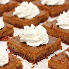 Pumpkin Pie Bars - 2teaspoons