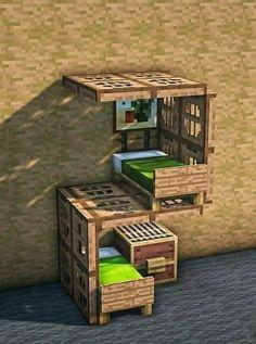 Minecraft House Plans, Minecraft Cottage, Easy Minecraft Houses, Minecraft House Tutorials, Minecraft Room, Minecraft House Designs, Amazing Minecraft, Minecraft Blueprints, Minecraft Creations