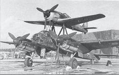 Mistel - Fw-190 with Ju-88.
