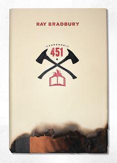 Re-Covered Books: 'Fahrenheit 451′ by Ray Bradbury