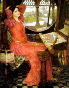 off Hand made oil painting reproduction of I am Half Sick of Shadows, Said the Lady of Shalott one of the most famous paintings by John William Waterhouse. The British painter John William Waterhouse concluded the artwork entitled . John William Waterhouse, John William Godward, Charles Edward, King Charles, Pre Raphaelite Paintings, John Everett Millais, The Lady Of Shalott, Lawrence Alma Tadema, Art Gallery Of Ontario