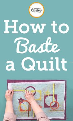 Peg Spradlin explains why she thinks basting your quilt is one of the most important steps in machine quilting your quilt. You will learn how to find the center of your table and use that to position your backing, batting, and quilt. Then use binder clips to position them and see how to properly stitch them together.
