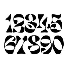 Inspiration Typographie, Typography Inspiration, Graphic Design Inspiration, Graphic Design Posters, Graphic Design Typography, Lettering Design, Graffiti Lettering, Typography Letters, Number Typography