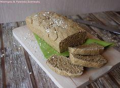 Νόστιμες κ Υγιεινές Συνταγές: Ψωμί βρώμης