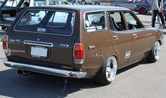 Datsun Sunny Van 210   Lowered, JDM, Stance