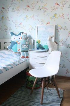 Schöne Tapete für ein Kinderzimmer