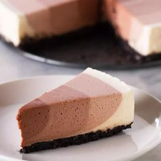 Chocolate Ripple Cheesecake Recipe by Tasty