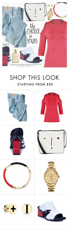 """""""Street Style"""" by pokadoll ❤ liked on Polyvore featuring Dickies, Lulu Guinness, Marni, Lacoste, Sydney Evan and Estée Lauder"""