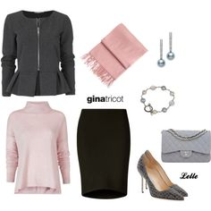 """#Pearls from #JRDunn in """"Gina Tricot"""" by lellelelle on Polyvore"""
