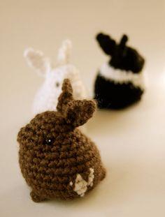 Bunny Nuggets PDF CROCHET PATTERN  nutsaboutcrochet13 on Etsy, $5.45, rabbit
