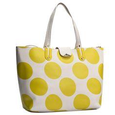 Torebka LIU JO - Shopping Neverful K A16035 E0087 Pois Albatre/Giall