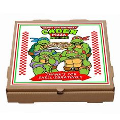 This pizza box label is personalized, this listing is for a PDF or JPEG DIGITAL FILES and will be emailed to your email address, so you can print out as many as you want. No printed materials or boxes