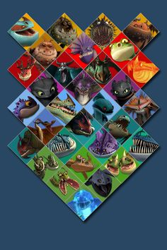 Is it bad that I know the names of every single breed of dragon shown? :)