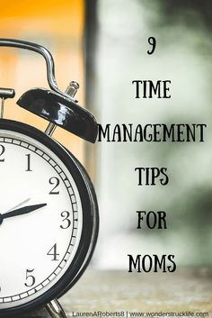 9 time management tips and tricks for moms who're trying to be have it all. Being home with kids and running your own business takes organization. New Parents, New Moms, Busy At Work, Time Management Tips, Mom Advice, First Time Moms, Home Based Business, Work From Home Moms, Working Moms