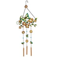 Floral Garden Wind Chime only $12.99!!
