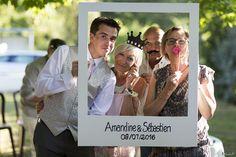 Idée photoshoot façon instagram durant le vin d'honneur lors de la journée de Mariage - Sébastien Huruguen photographe de mariage à Bordeaux