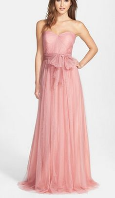 Jenny Yoo 'Annabelle' dress in blush pink