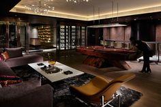 A.N.D. | NOMURA Co.,Ltd. - Projects Cave Bar, Game Room Bar, Man Cave Room, Goth Home, Cigar Room, Man Cave Garage, Interior Decorating, Interior Design, Lounge