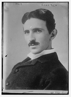 Nicola Tesla  See his patent for an electric generator here:  https://www.google.com/patents/US511916