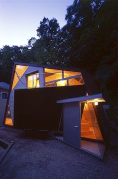 #house Ideal House, Japanese House, Buildings, Construction, Exterior, House Design, Ring, Architecture, Creative