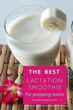 lactation smoothie recipe