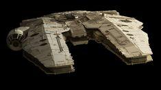 Star Wars - Wide-body Corellian Standard-stock Freighter.