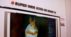 ¡Actualidad! ¿Qué te parece el televisor Extra Wide Ultra HD Smart #TV 5k de 105 pulgadas de #Toshiba?