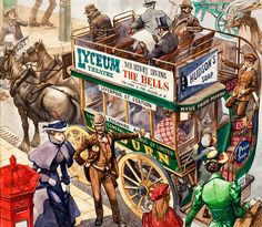 Omnibus (Original) art by Peter Jackson at The Illustration Art Gallery