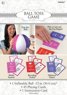 You have to play this! A hilarious game for a hen party with your girls...The Hen Night Ball Toss Game #Hen #Party #Games