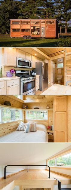 awesome A 344 sq.ft. tiny house with a private first floor bedroom, two lofts, and a liv... by http://www.danaz-home-decor.xyz/tiny-homes/a-344-sq-ft-tiny-house-with-a-private-first-floor-bedroom-two-lofts-and-a-liv/