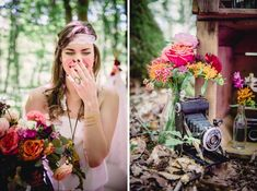 Shooting d'inspirations Hippie-Folk   Déco Mariage   Queen For A Day - Blog mariage