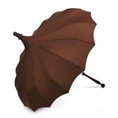 Expresso Brown Umbrella. $96.00