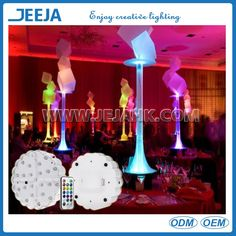 New Design Led Table Centerpieces Decoration Light Base For…