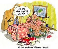 Wenn Anästhesisten lieben ..