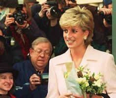 March 6, 1996: Princess Diana visiting the National Hospital of Neurology & Neurosurgery, London.