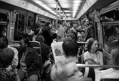 In Paris metro Paris Metro, Street Photography