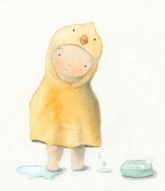 alicia padron : baby/Illustration Friday: wrapped