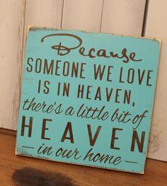 Because Someone We Love is in van TheGingerbreadShoppe op Etsy, $27,95