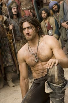 Prince Dastan ( Jake Gyllenhaal ) We write our destiny ! Prince of Persia didn't kill at the box office, but Jake Gyllenhaal definitely turned heads with his supertoned bod. Who needs a six-pack when you can have eight? Hugh Jackman, Channing Tatum, Chris Hemsworth, Robert Pattinson, Jacob Black, Jamie Dornan, Celebrity Gossip, Celebrity Crush, Hottest Male Celebrities