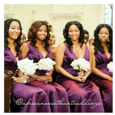 ... Pinterest | African american weddings, Hairstyle photos and Bridesmaid