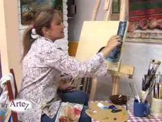 Los secretos de la pintura en acrílico con espátula y pincel