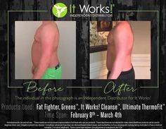 OUR PRODUCTS SPEAK FOR THEMSELVES! Look at these amazing results from our fat fighter, greens, cleanse & Thermofit!  whatever your goals are let us help you!! Let's do this together!