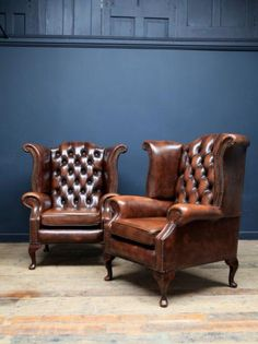 A Pair of Chesterfield armchairs, Antique Chairs & Armchairs, Drew Pritchard