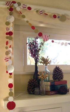 simple christmas garland