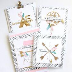 C'est le moment de vous présenter les produits de la nouvelle Collection Automne 2016 #4enscrap ! - Le blog de 4enScrap Scrapbooking Dies, Diy Paper, Paper Crafts, Abstract Flowers, Card Tags, Flower Cards, Diy Cards, Homemade Cards, Mini Albums