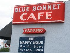 The Blue Bonnet Cafe in Marble Falls, TX  Number of Visits 1