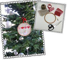 DIY: Φτιάξε μόνη σου χριστουγεννιάτικα στολίδια