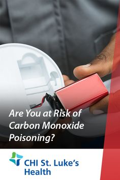 Are You at Risk of Carbon Monoxide Poisoning? Emergency Care, First Aid, United States, Learning, Room, Bedroom, First Aid Kid, Studying, Rooms
