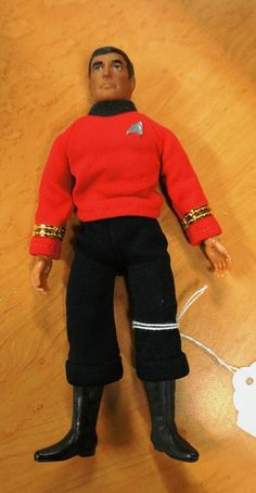 "**ORIGINAL**1974 Star Trek ""Scott"" Figurine (Medium)"