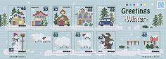 グリーティング切手「冬のグリーティング」の発行 - 日本郵便